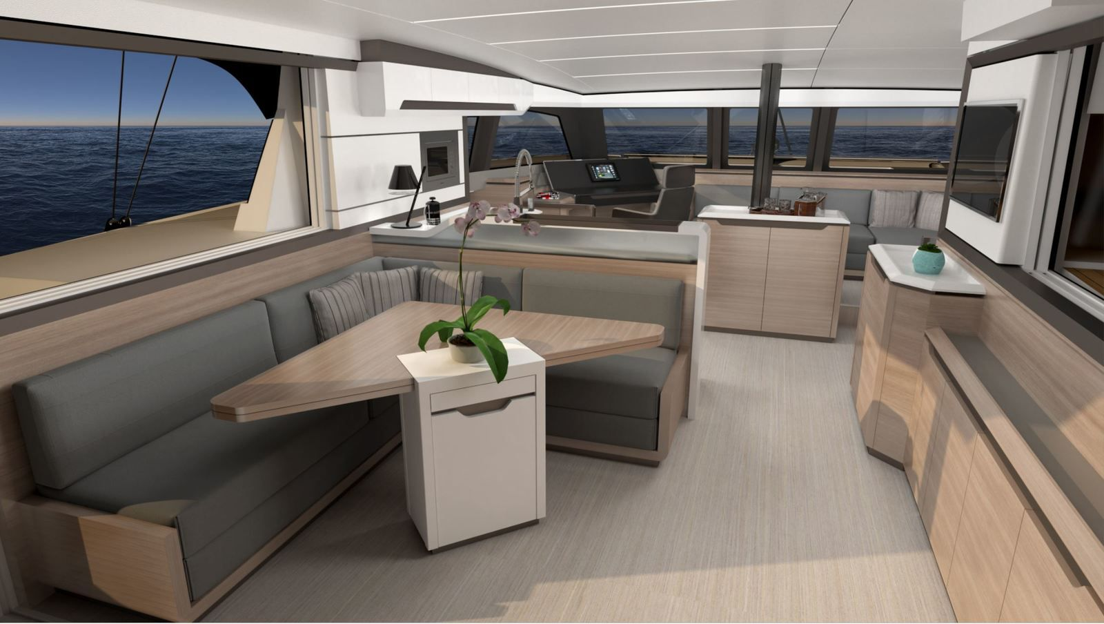 Catana Ocean Class - bluewater sailing and high performance... in Open mode !