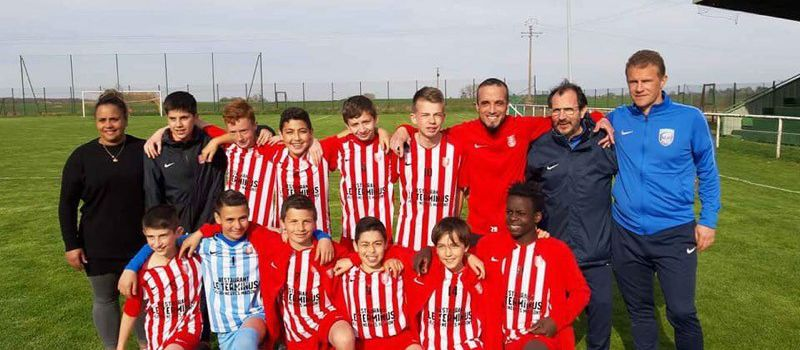 Les U13 de l'AS Ludres sont Champions du District de Meurthe-et-Moselle