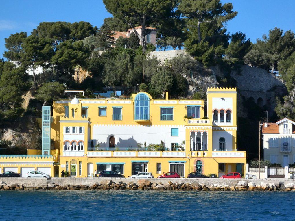 La villa mauresque , sur la corniche Michel Pacha à la Seyne sur Mer (83 VAR )