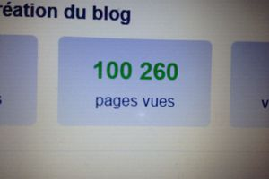 100 000 pages vues !