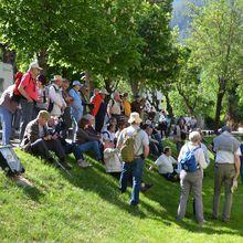 Colmars-les-Alpes, Visite de l'Association Vauban