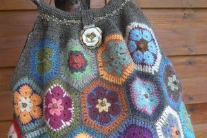 "Sac ""Mamy Bag"" en African Flowers"