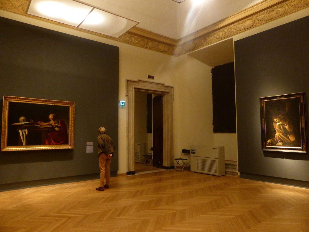 Le Caravage, Judith et Holopherne  # #  L'Arracheur de dent  # #  Saint Jérôme & Saint François en méditation © photographies Le curieux des arts Gilles Kraemer