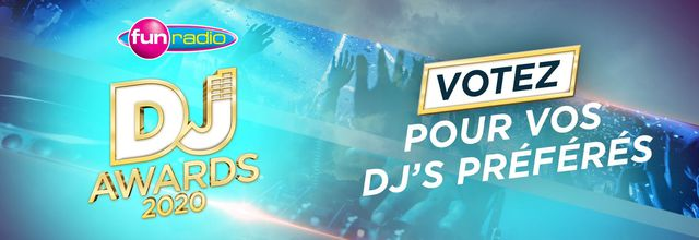 Fun Radio Dj Awards 2020, vote Tiësto !!!