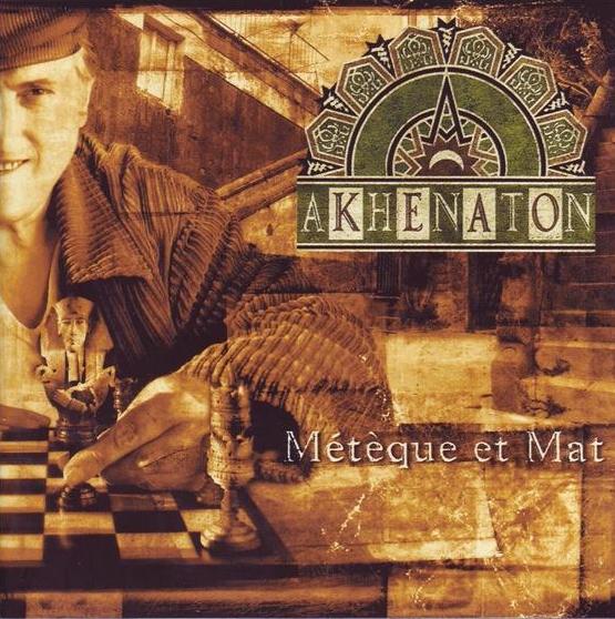 Akhenaton (IAM) - Métèque et mat (cover front) - 1995 - le rap c'était mieux avant