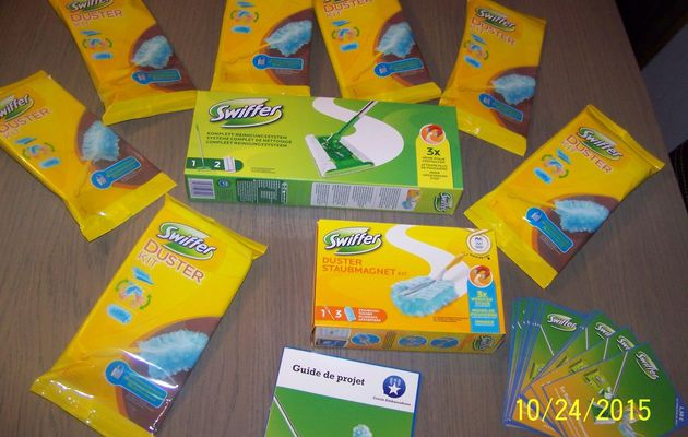 Test Plumeau Swiffer Duster et Balai Swiffer