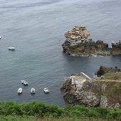 229 - Le port abri de Loëdec, Porzh heign ar hass, abri côtier saisonnier, pointe de Penharn, Cap-Sizun, photos GeoMar