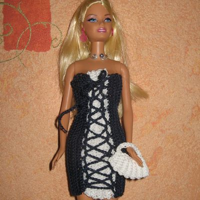 Tutoriel -  Barbie Bicolore Croisée