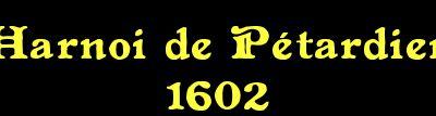 Pétardier - debut 17eme