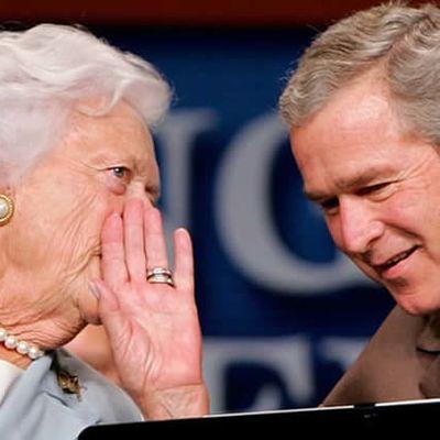 Barbara Bush obituary