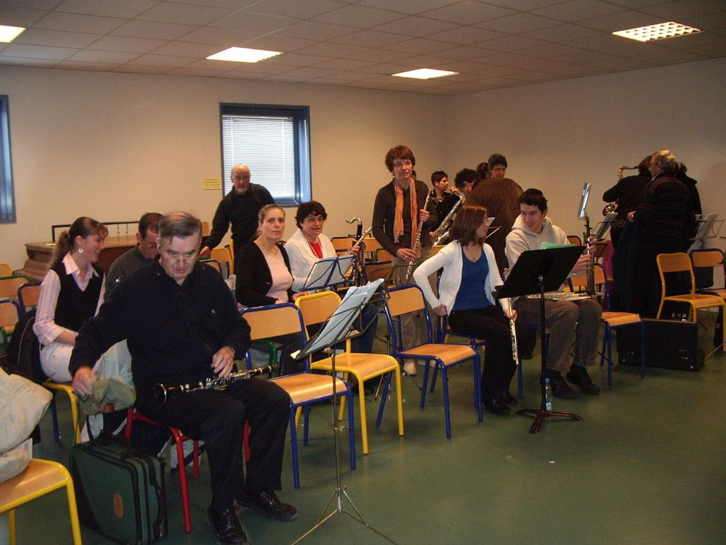Stage organisé par la FMY à Aubergenville le 13 avril 2008.