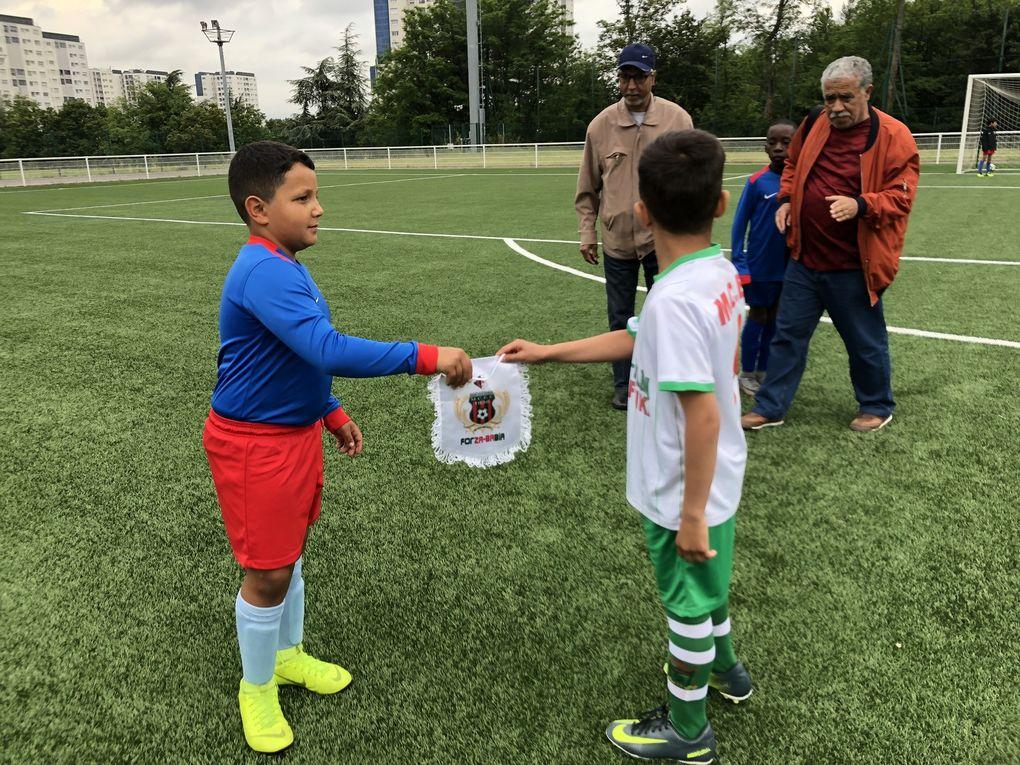Rencontre amicale entre les équipes U10 du Moulodia Chabab El Eulma et Vénissieux FC