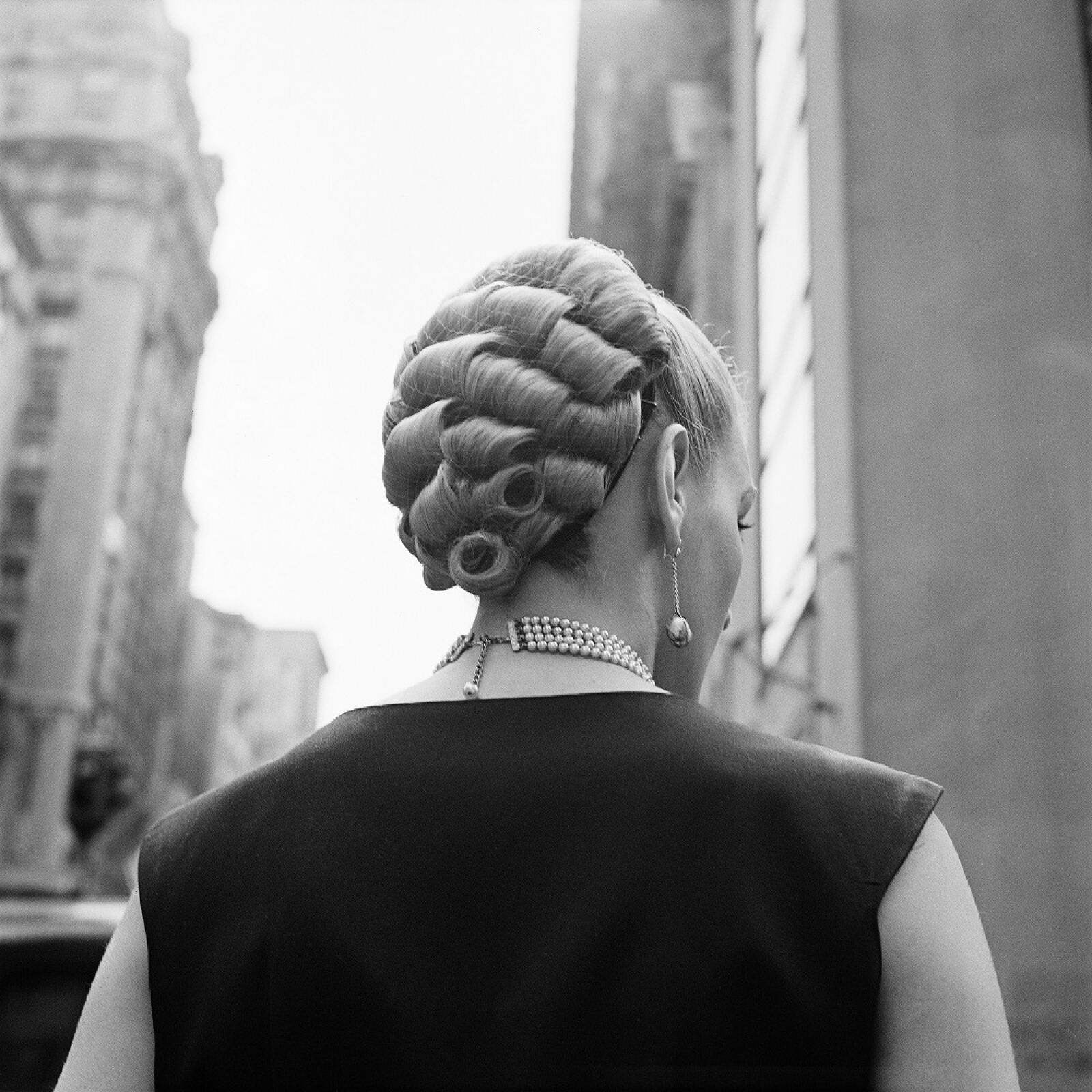 """""""New York, 3 septembre 1954"""" de Vivian MAIER © Estate of Vivian Maier, Courtesy of Maloof Collection and Howard Greenberg Gallery, NY"""