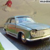 PEUGEOT 204 COUPE 1967 1/43 NOREV - car-collector.net