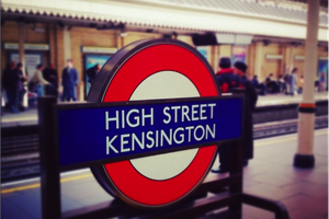 Le quartier de Kensington High Street !