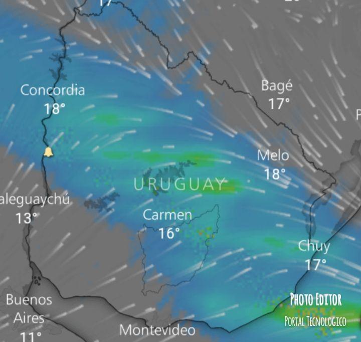 Vientos y zona de inestabilidad