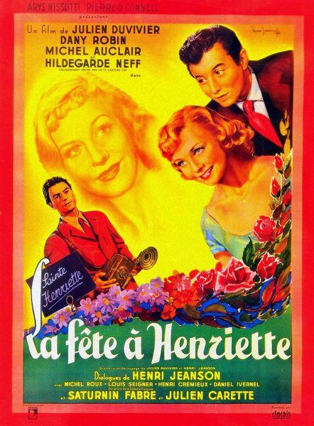 """""""La Fête à Henriette"""" de Julien Duvivier (1952)"""