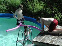 piscine et la journee ...