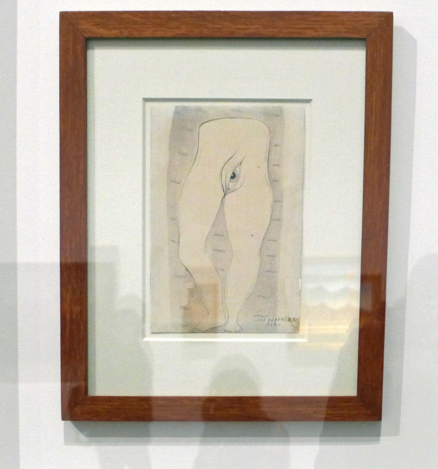 Le Monde paisible, encre sur papier filigrané, 1927. Centre Pompidou, Paris.