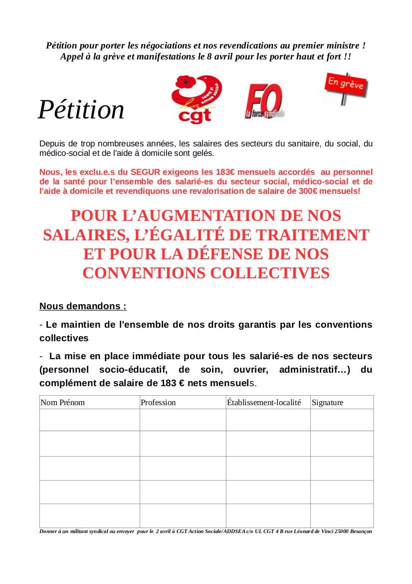8 AVRIL: ON MET LE PAQUET ! signez la pétition !!
