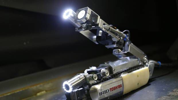Scorpion robot for Fukushima