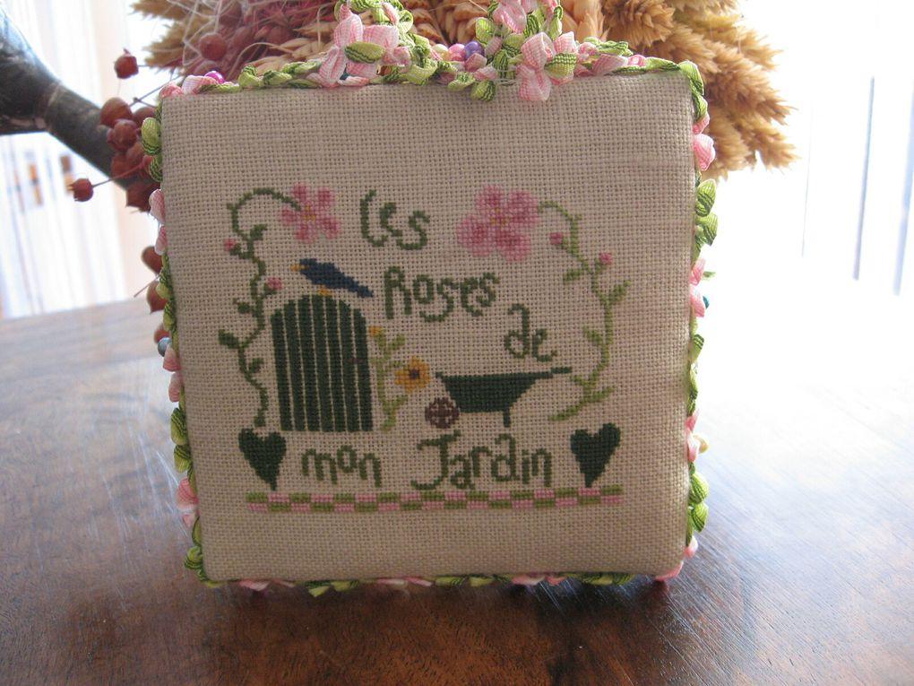 Les Roses de mon Jardin - L'R de Rien - Pinkeep