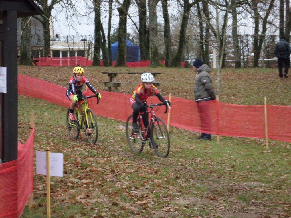 Album photos des jeunes Drouais au régional de cyclo-cross d'Aubigny sur Nère (18)