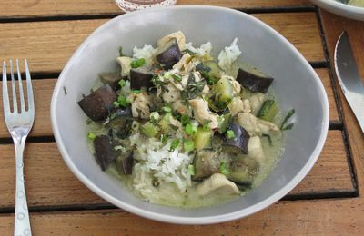 Curry (jaune) d'inspiration Thaï