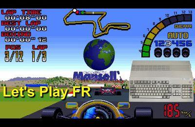 Amiga Let's Play FR - Nigel Mansells World Championship