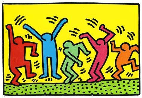 A la façon  Keith Haring