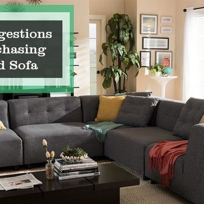 Best Suggestions For Purchasing A Good Sofa