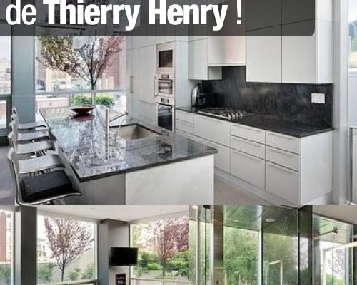 Le nouvel appartement de Thierry Henry !