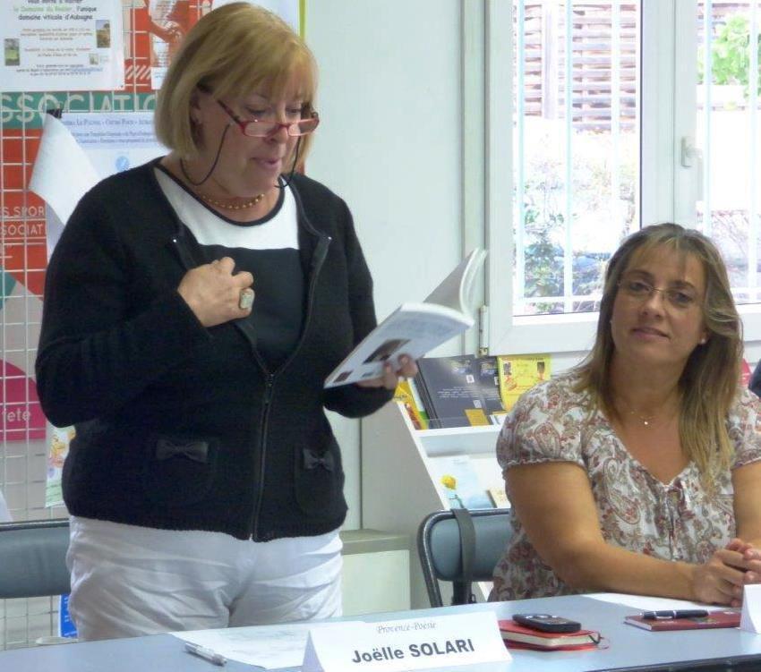 La cinquième assemblée générale de Provence-poésie éditions.