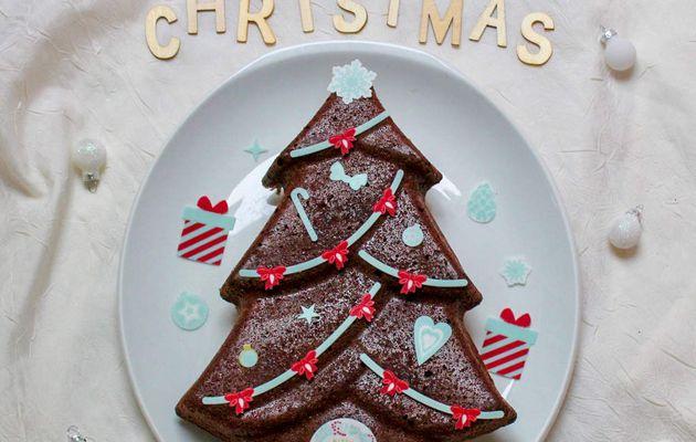 Fondant au chocolat de Noël