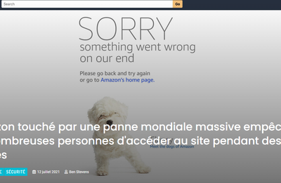 12 juillet 2021: Amazon est en panne et aux abonnés absents pendant 2 heures !!!