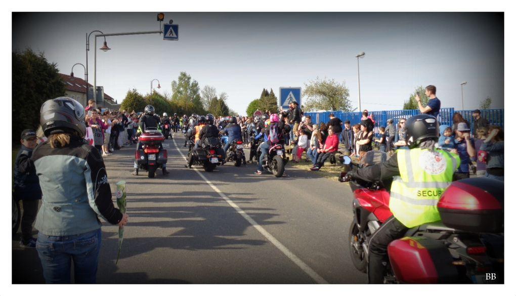 Une Rose Un Espoir des motards  pour lutter contre le cancer les 29 et 30 avril 2017