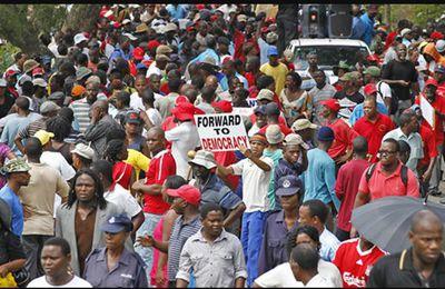 Déclaration de solidarité avec le peuple du Swaziland