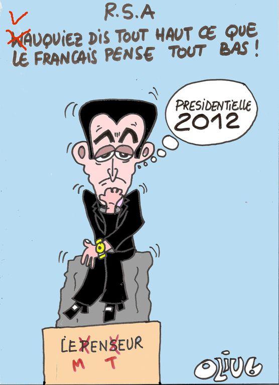 Série de dessins choisis par la rédaction du Post.fr, et placés en Une.