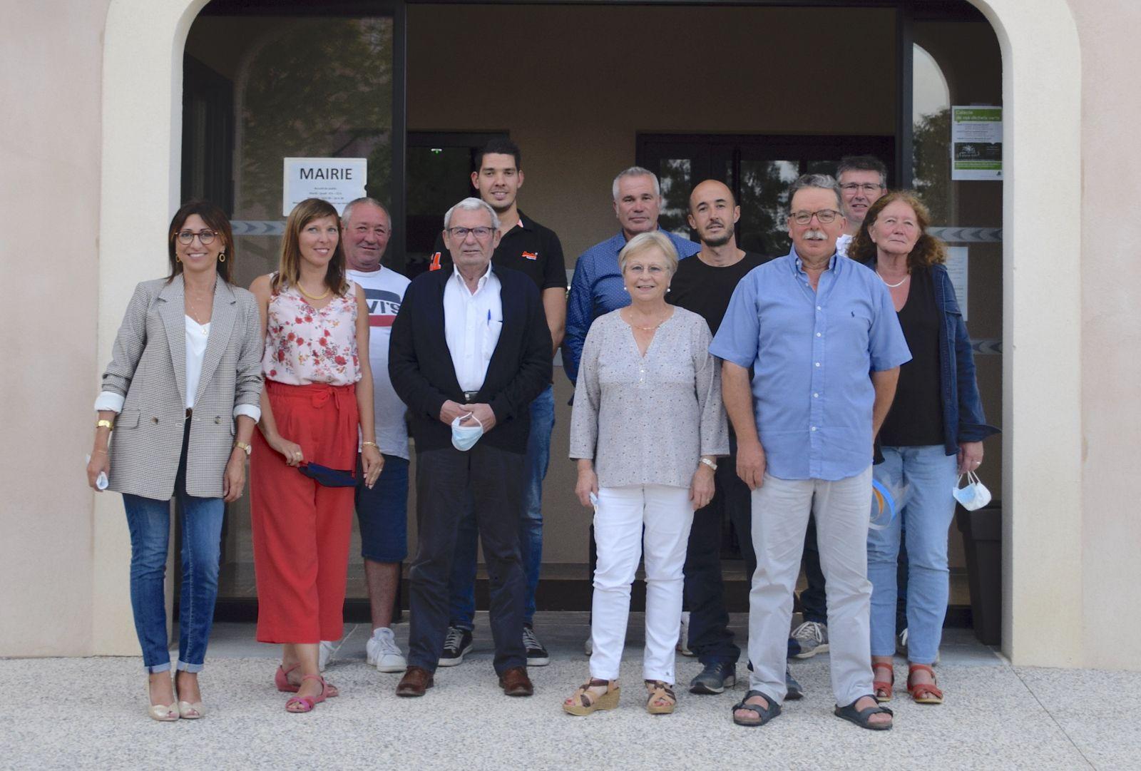 SANNES   :   Eve Maurel, maire, après un an à la tête de la commune