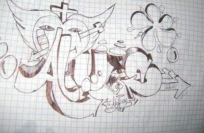 --------graffitis, stilo---------