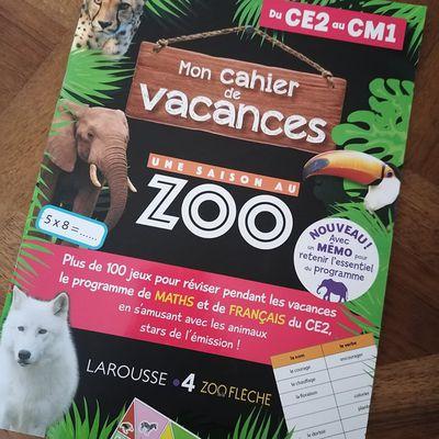 Vive les vacances ou comment réviser avec plaisir les acquis de l'année avec les éditions Larousse