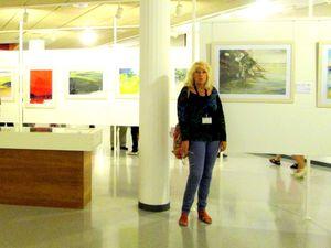 """J'ai été sélectionnée pour exposer """"une aquarelle """" avec 5 autres membres de la Société française d'aquarelle au musée de l'aquarelle de Llanca en Catalogne . Je participerai en plus au symposium de 5 jours organisé par l'ECWS ( europeen watercolor society ) qui nous permets de peindre et d'échanger avec d'autres aquarellistes européens ."""