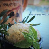 Pâte Brisée à l'Huile d'olive et Basilic - Ma Cuisine Bleu Combava