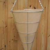 How to Make Cheap Hanging Basket Liners from Thick Woolen Sweaters