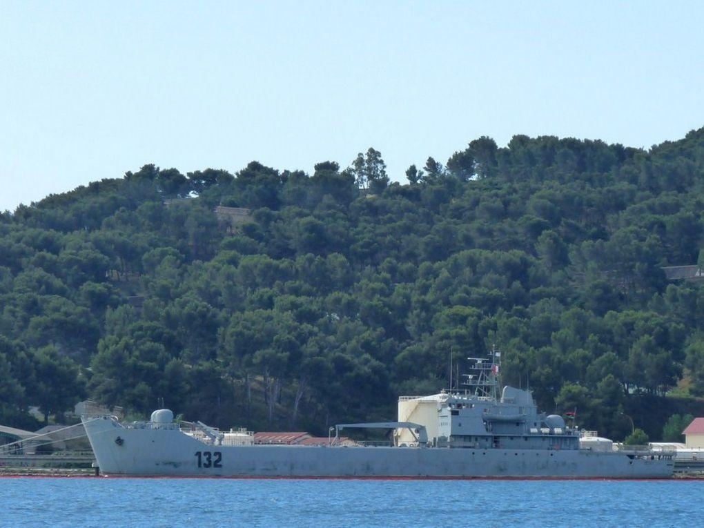 OUF 132 , Batiment de débarquement de la marine lybienne