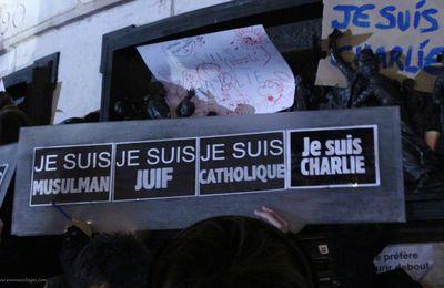 Rassemblement Place de la République JeSuisCharlie