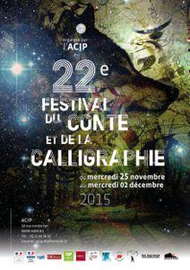 Festival du Conte et de la Calligraphie le 29 novembre