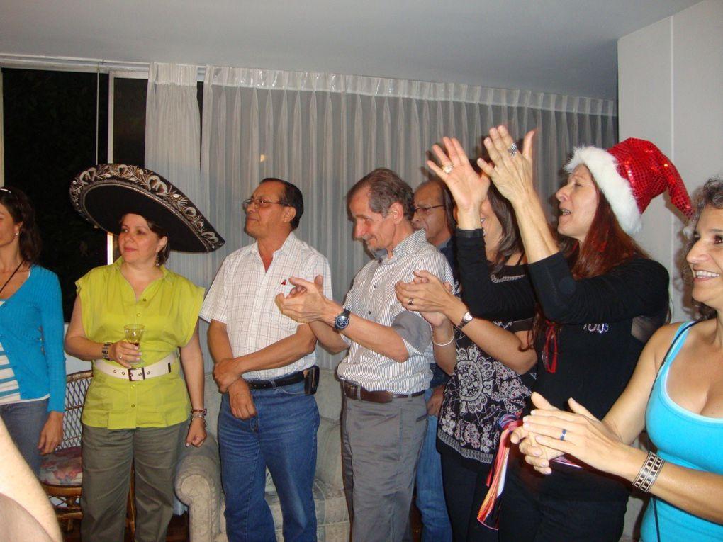 FIESTA DE FIN DE AÑO SHAUMBRAS MEDELLIN Y CELEBRACIÓN DEL CUMPLEAÑOS DE NUESTRA QUERIDA AMIGA CARMENZA EN SU PROPIA CASA