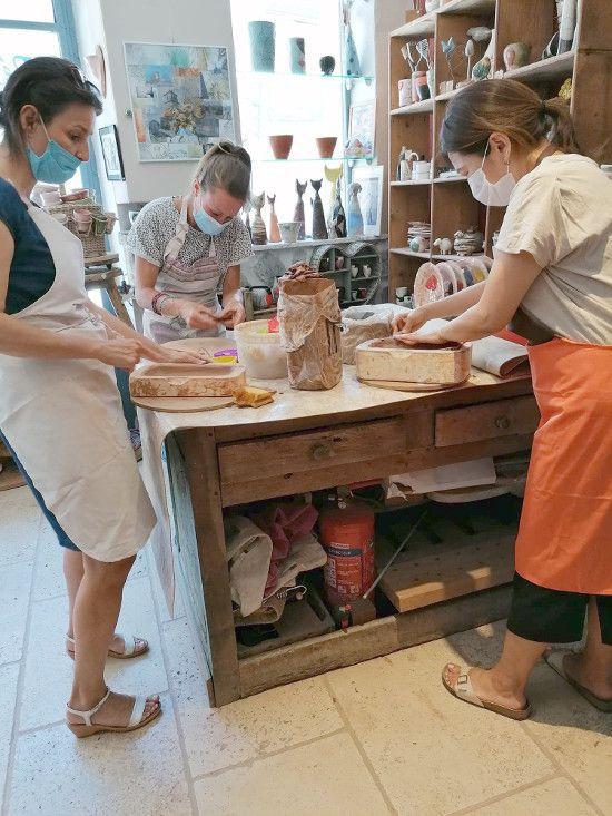 Barrême STAGES de poterie durant les Vacances d'été 2021 à l'Atelier Zulma