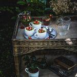 Tiramisu pistache et fraise